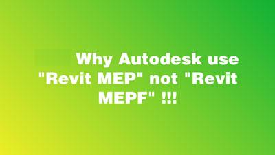 Tại sao phải là MEPF mà không phải là MEP ???